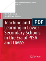(Professional Learning and Development in Schools and Higher Education 12) Kirsti Klette, Ole Bergem, Astrid Roe (Eds.) - Teaching and Learning in Lower Secondary Schools in the Era of PISA and TIMSS