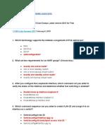 Cisco Certified Networking Associate 200-125 Dumps Latest Version 2018