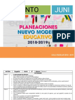 Plan junio primaria 2019 2020