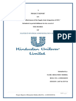 Impact in the Effectiveness of the Supply Chain Integration of HUL-converted