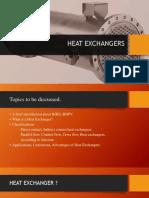 heat exchanger ppt