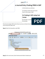How to perform a Journal Entry Posting FB50 in SAP.pdf