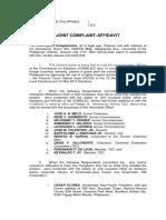 AES Watch Complaint vs Old Comelec Ombudsman June 10 2013