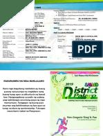 District Palaro 2019