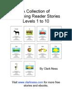 Beginning Reader Stories - Levels 01 to 10