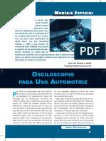 Osciloscopio Para Uso Automotriz