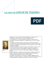 La Teoría Cultural de Vygotsky