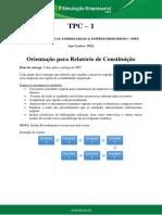 Doc11 Nstrucoes Para Relatorio de Constituiccao