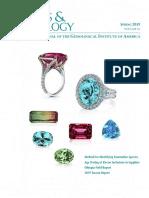 Spring 2019 Gems Gemology