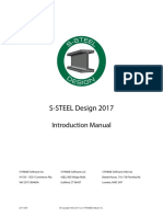 S-STEEL R2017 Introduction Manual