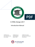 S-STEEL R11 Introduction Manual