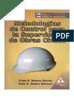 METODOLOGÍAS DE CONTROL PARA LA SUPERVISIÓN DE OBRAS CIVILES