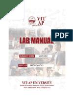 Lab Manual Demo