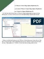 [lab 8.4]Cấu hình Backup và Restore VMware vCenter bằng vSphere Replication 5.docx