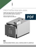 Caldera Prextherm Rsw 600