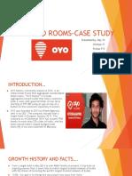 Oyo Rooms-case Study