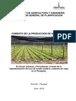 Proyeto Produccion Hortalizas Media Sombra MAG 2014