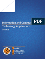 Dlis108 Information and Communication Technology Applications