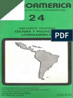 VILLEGAS_cultura y Política en América Latina 140518