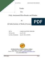 Fully Automated Elisa Reader & Washer