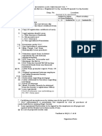 Checklist - Purchase of Re-sale Flat in a Registered Co.op. Society Proposed Co.op.Society