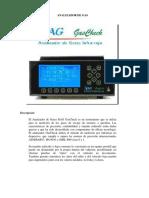 Analizador de gases infrarrojo