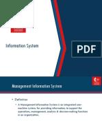 MIS-01 Information System