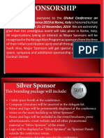 Sponsorship | Biochemistry Conference | Congress | Rome | Italy | 2019