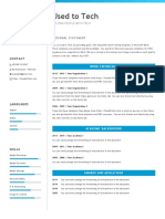 Usedtotech.com - 04 Professional Resume Template in Word