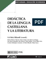 Didactica de La Lengua Castellana y La Literatura