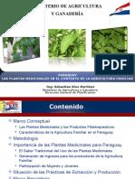 La Plantas Medicinales en El Contexto de La Agricultura Familiar