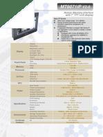 MT6071iP1 Datasheet ENG