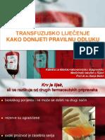 4. OM-Transfuzijsko Lijeƒenje