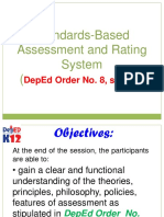 Assessment Under the K to 12 for ENGLISH COORS