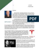 Entrepreneur - Elon Musk