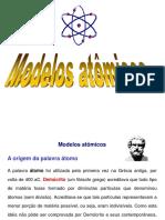 Modelos Atômicos - Luís Fernando
