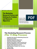 Marketing Research Chapter 3 and 4