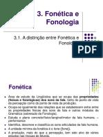 apresentação de Fonética e Fonologia
