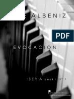 Albeniz-Evocación