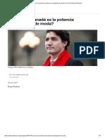 Por Qué Canadá Es La Potencia Emergente de Moda