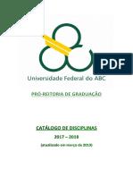 Plano Pedagogico Filosofia UFABC