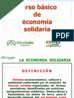 Curso Basico de Economia Solidaria. Cooperandes
