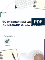 Important question for nabard grade A
