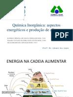Química Inorgânica Aspectos Energéticos e Produção de Alimentos