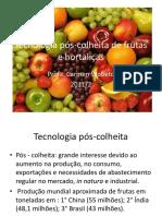 Tecnologia Pós-colheita de Frutas e Hortaliças1