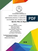 00B - GUIA PARA LA ARTICULACION METODOLOGICA Y DISCIPLINAR DE PLANES DE NEGOCIOS (1).pdf