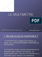 COMMENT ça MARCHE LE MULTIMETRE.ppt