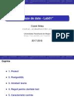 Baze de Date - Lab01
