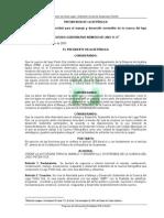 1.1.2.1Acuerdase crear la autoridad para el Manejo de y Desarrollo Sostenible de la Cuenca del Lago de Peten Itza