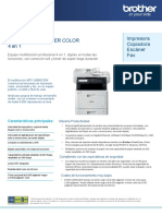 Multifunción Brother Color MFC-L8900CDW
